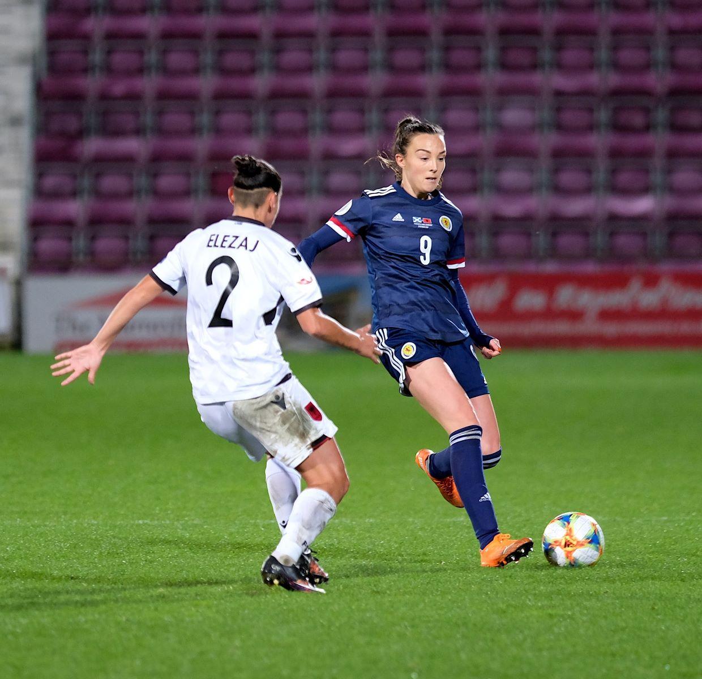 Scotland goalscorer, Caroline Weir
