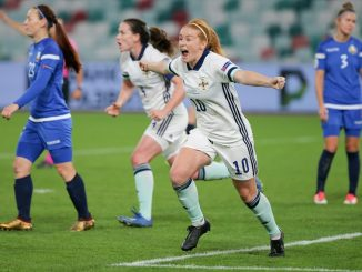 Northern ireland goalscorer, Rachel Furness