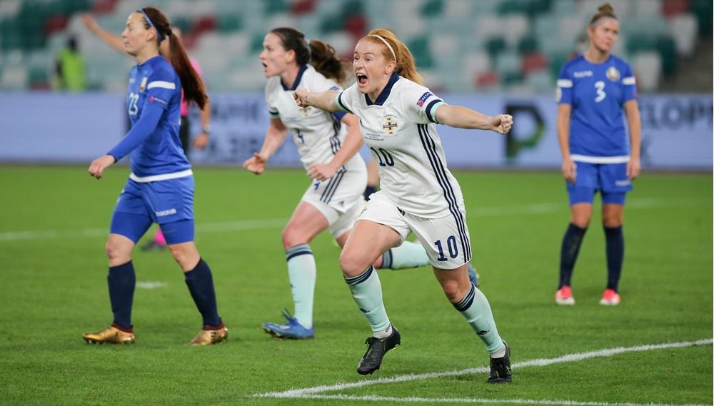 Northern ireland goalscorer, Rachel Furness