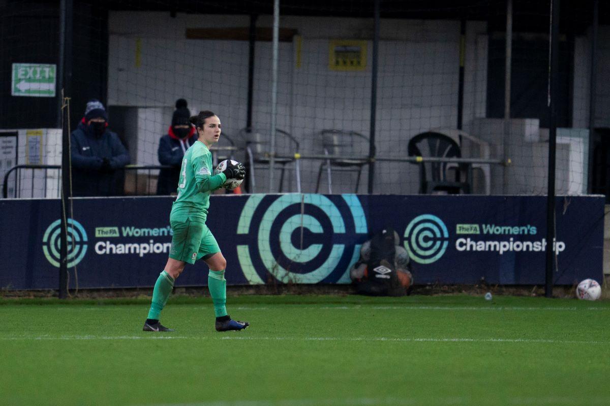 Blackburn Rovers Ladies goalkeeper Alex Brooks