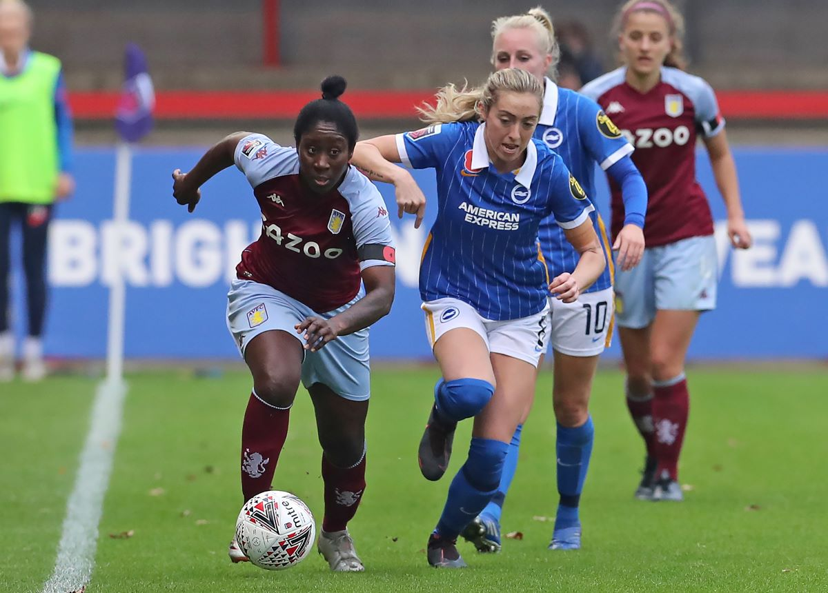 Anita Asante got Villa's opener