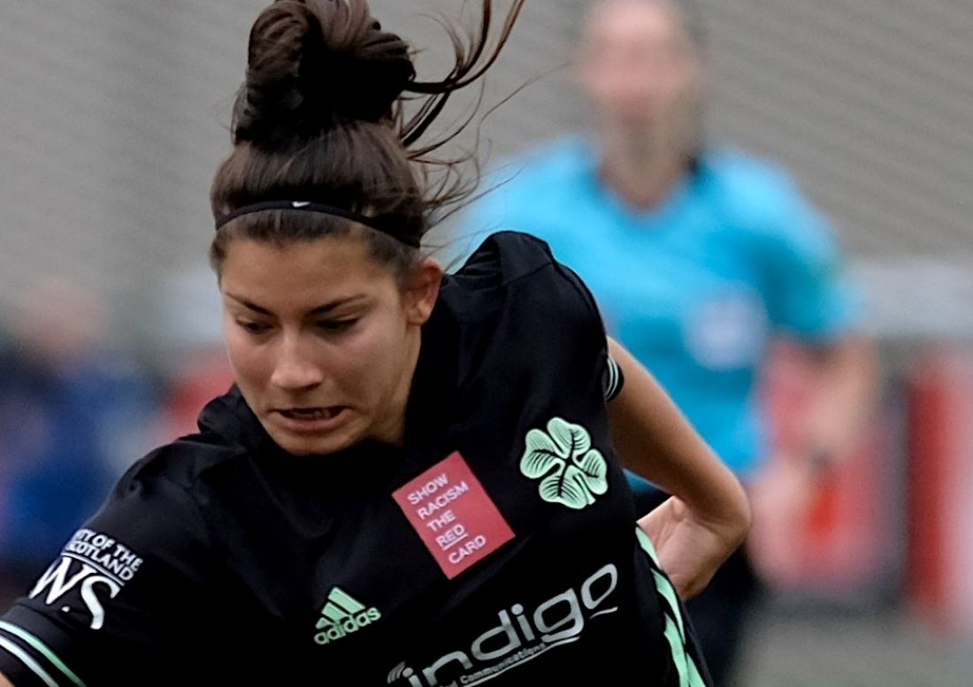 Celtic's two-goal Anita Marcos
