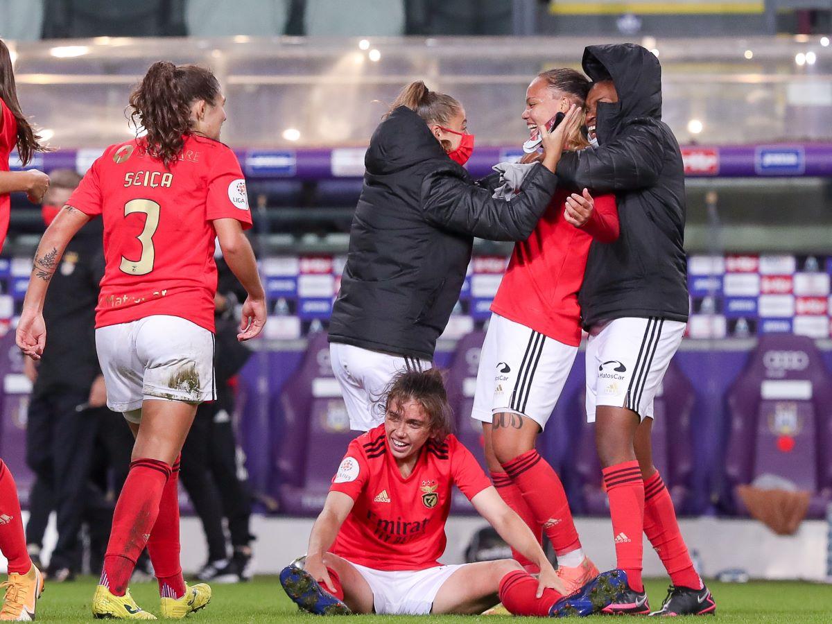 Benfica celebrations