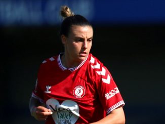 Bristol City's two-goal Chloe Logarzo