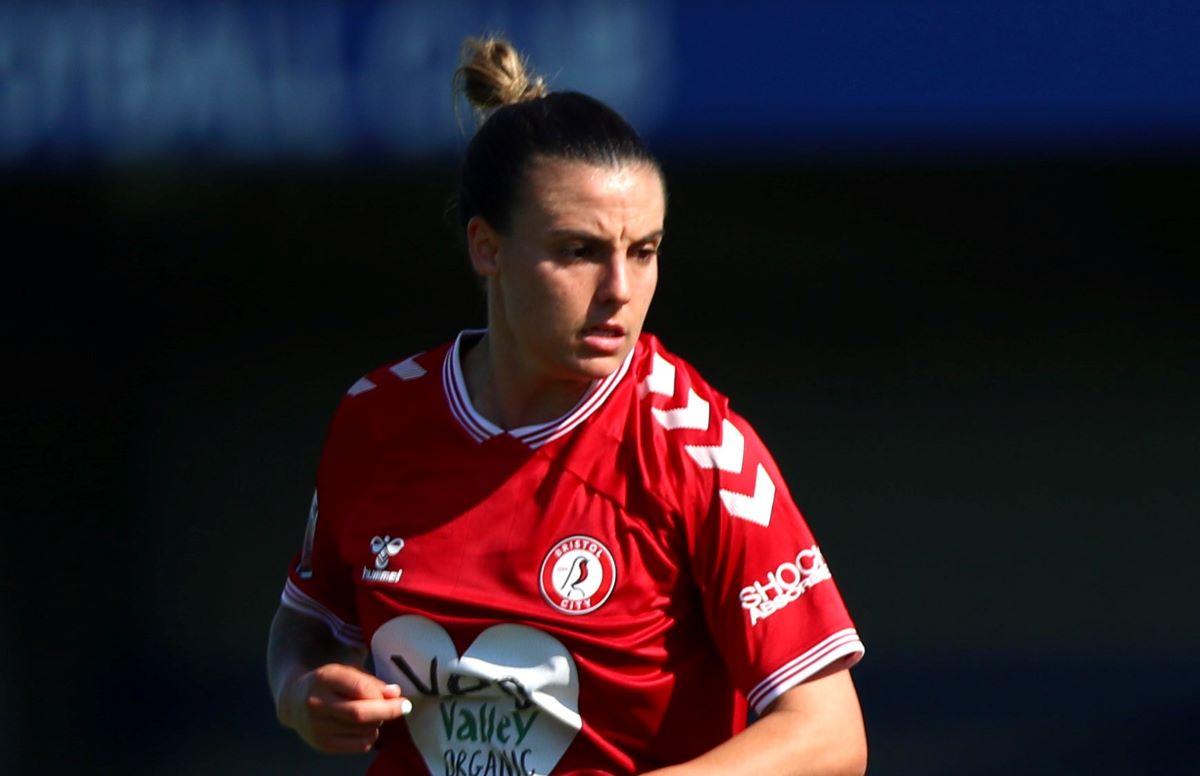 Bristol City's two-goal Chloe Logarzo