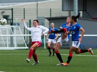 Rangers scorer, Demi Vance
