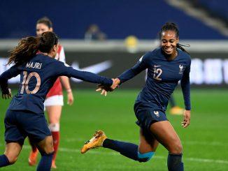 France's two-goal Marie Antoinette Katoto