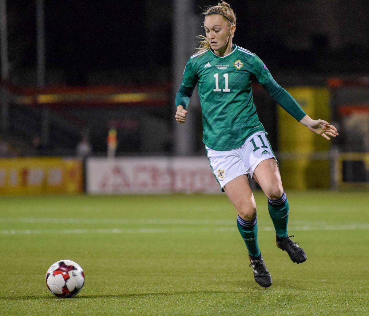 Northern Ireland's Lauren Wade