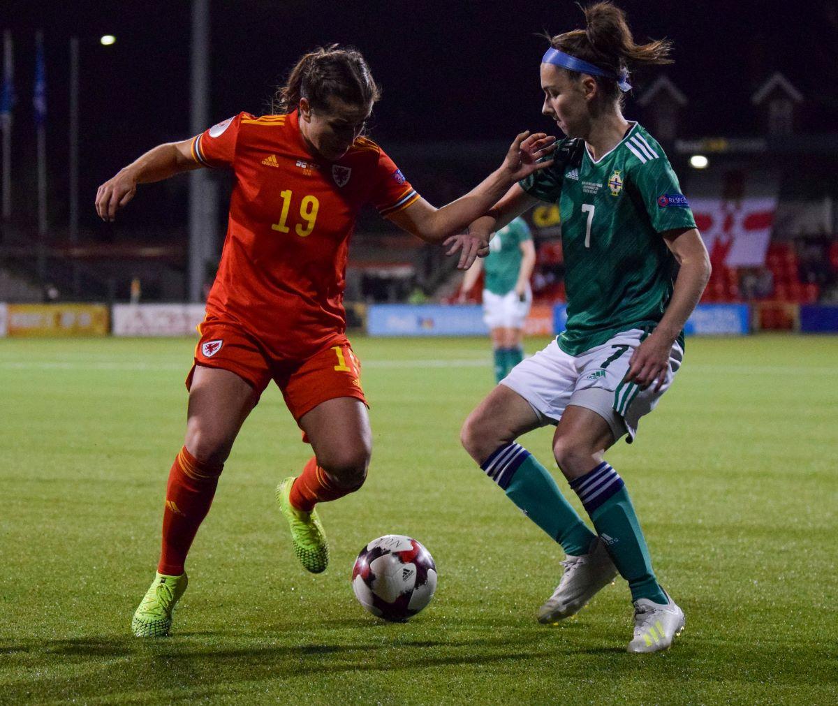 Northern Ireland's Chloe McCarron