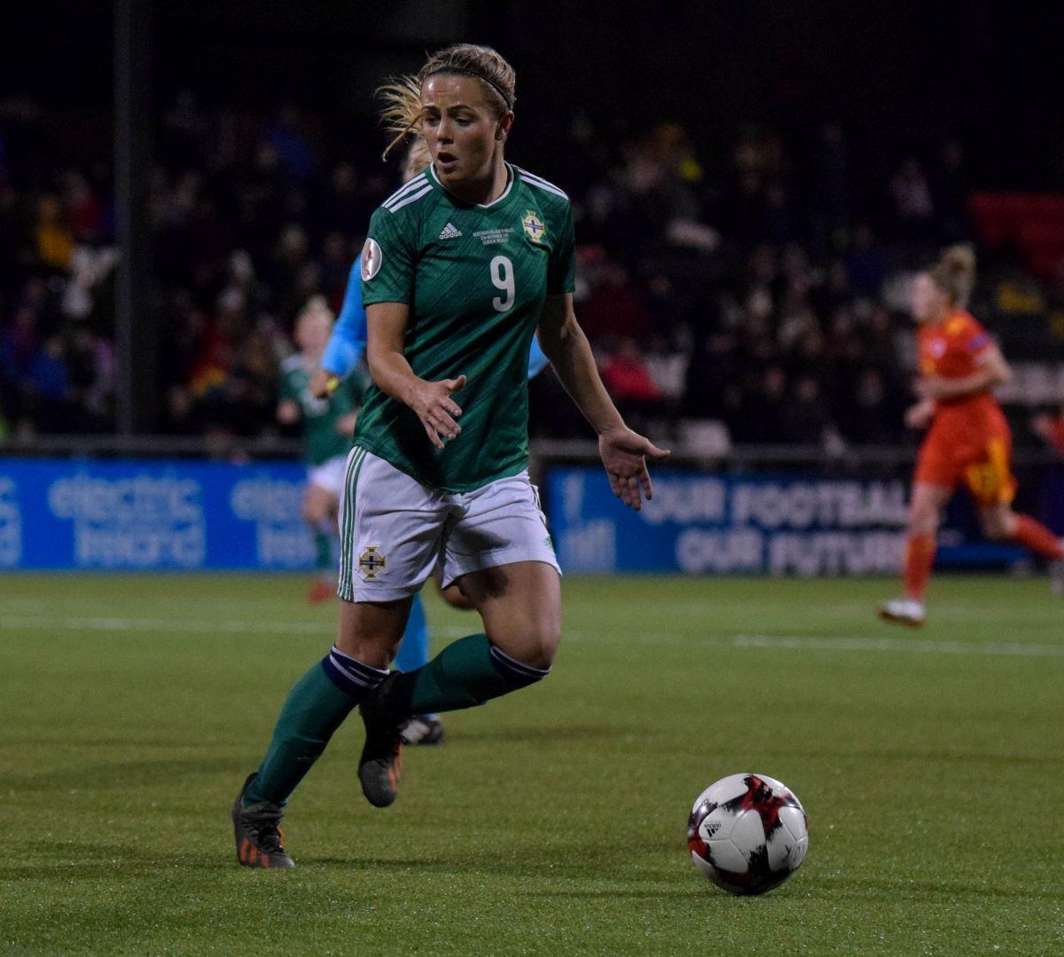 Northern Ireland's Simone Magil