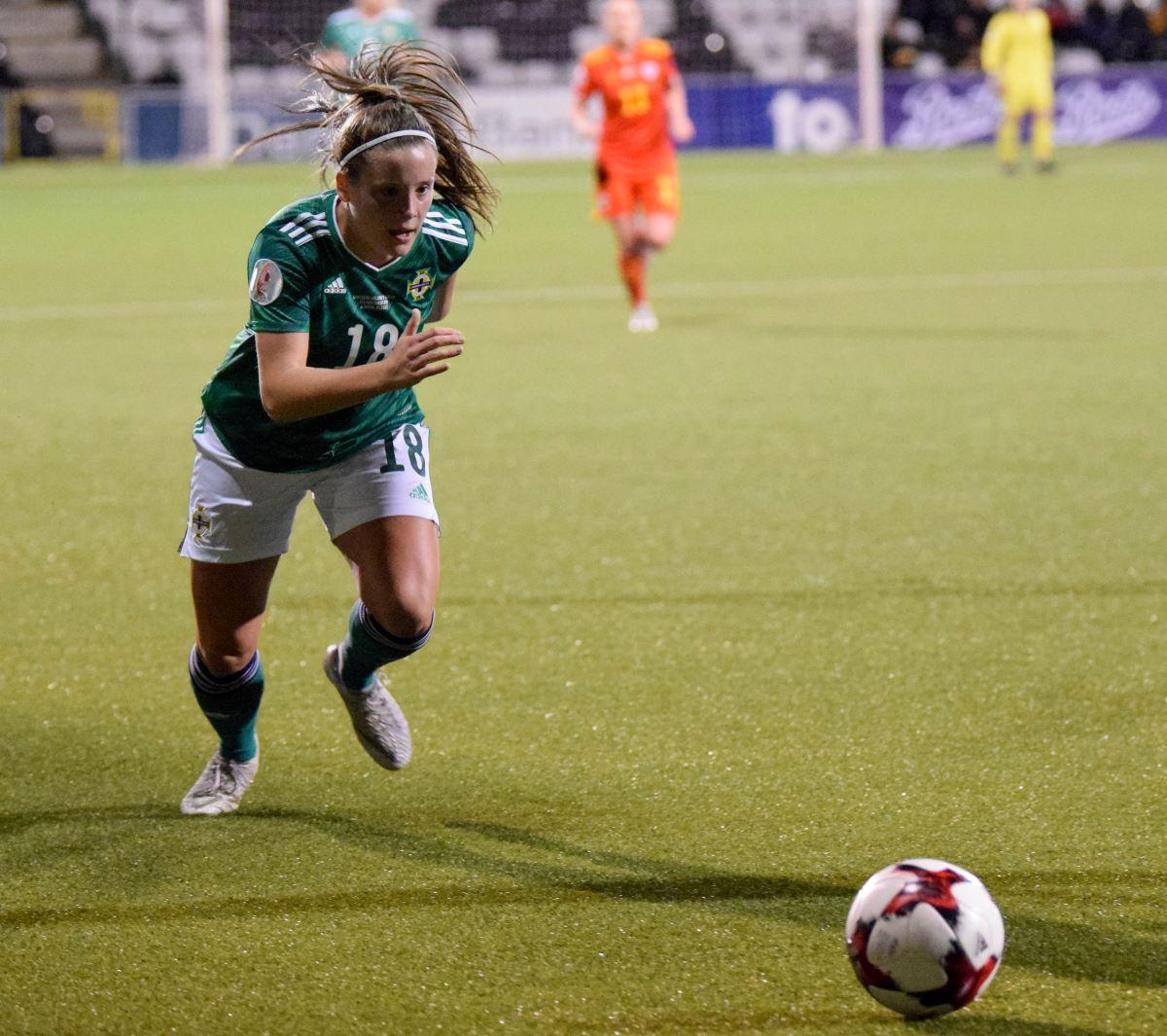 Northern Ireland's Megan Bell