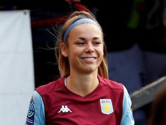 Aston Villa's three-goal Nadine Hanssen