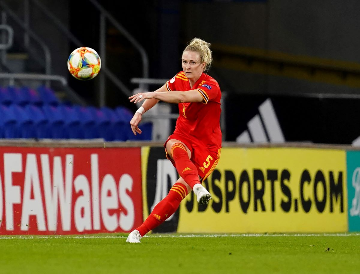 Wales's Rhiannon Roberts