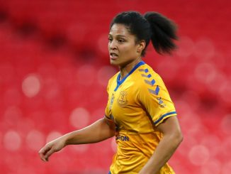 Everton's Valerie Gauvin is out injured
