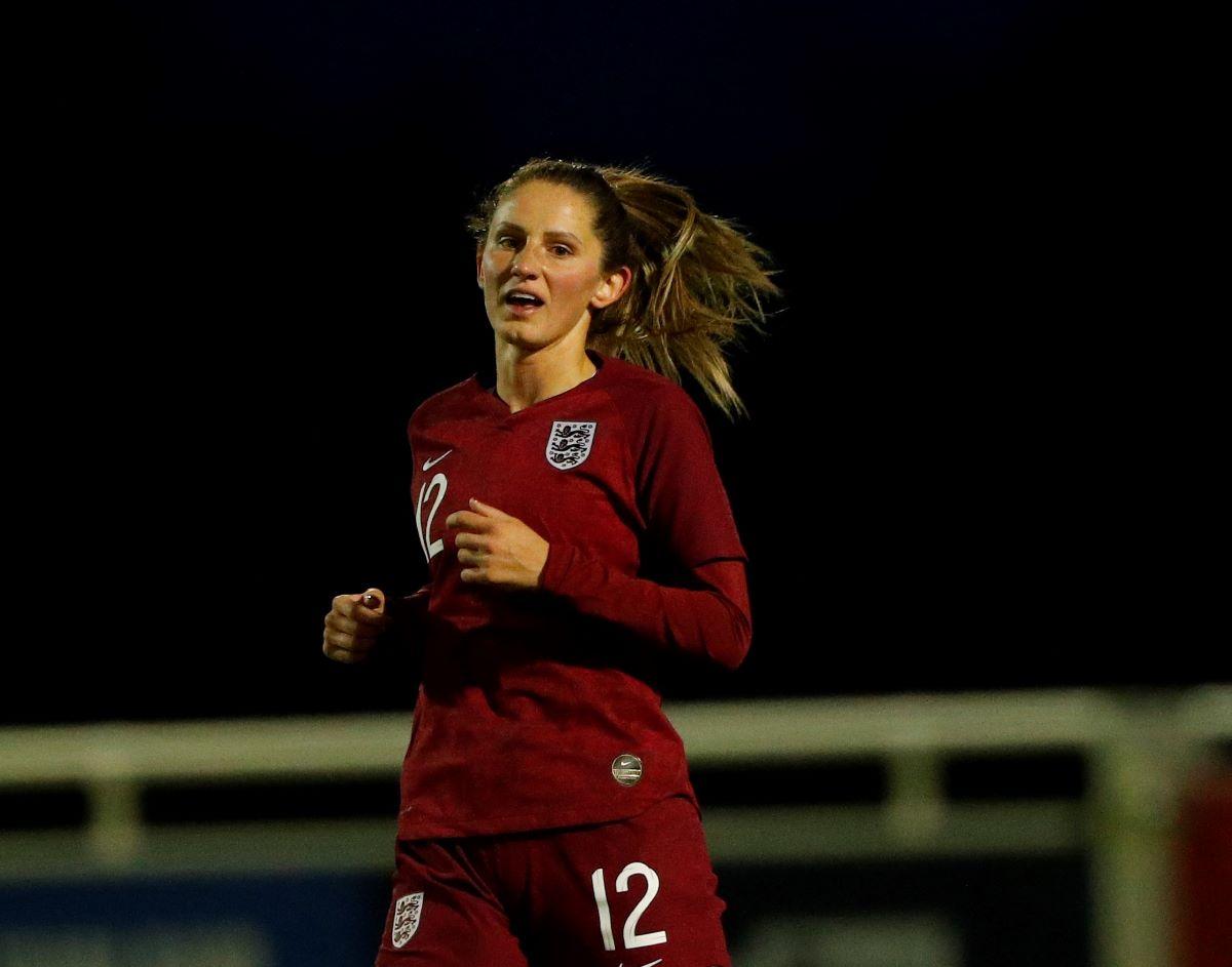 England's Abbie McManus