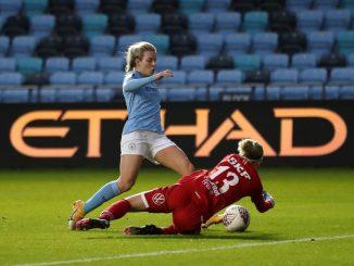 Lauren Hemp scored for Man City
