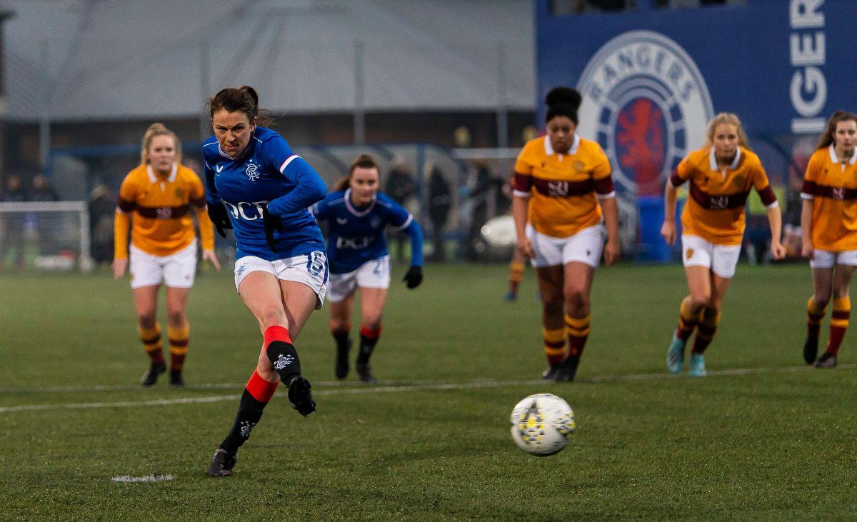 Rangers' three-goal Lizzie Arnott