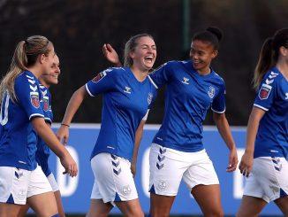 Everton goal scorer, Lucy Graham