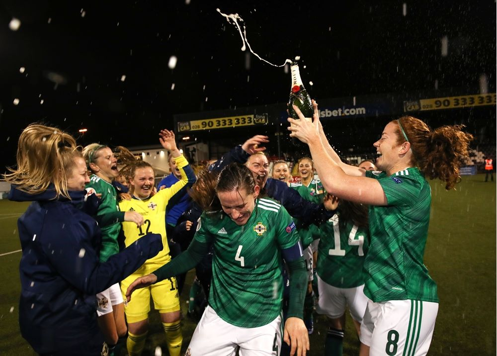 Northern Ireland pop the champagne