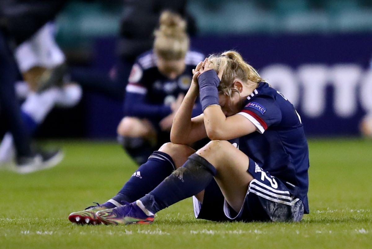 Scotland heartbreak