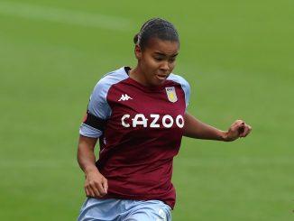 Aston Villa's two-goal Shaina Hayles