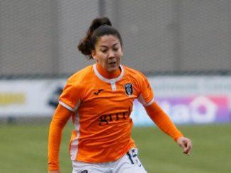 Glasgow City scorer, Sharon Wojcik