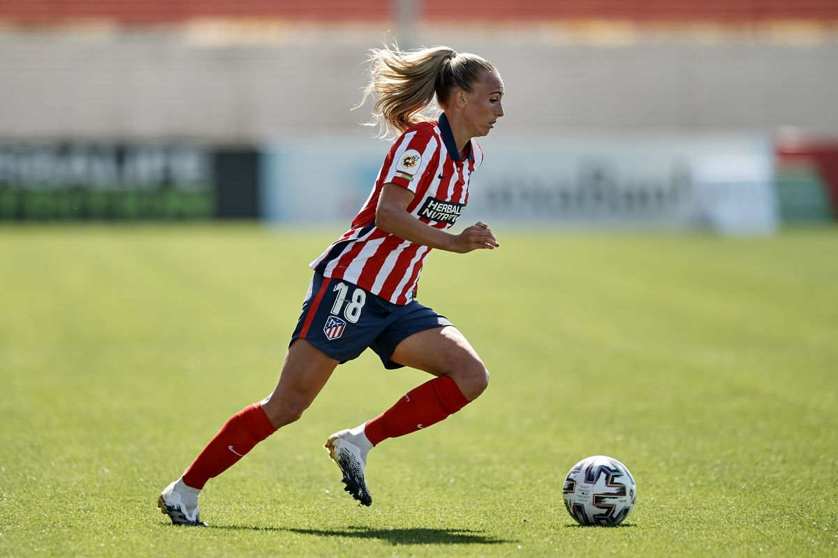 Toni Duggan of Atletico