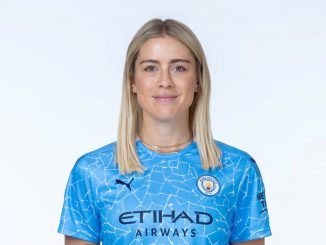 Man City's new signing, Abby Dahlkemper