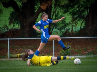 Welsh Premier Women;s league action
