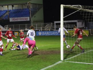 Bristol City's Yana Daniels clears off the line