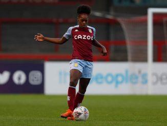 Aston Villa's Diana SIlva