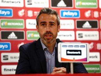 Spain's head coach. Jorge Vilda