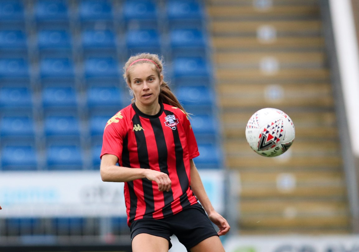 Lewes scorer Katie Rood