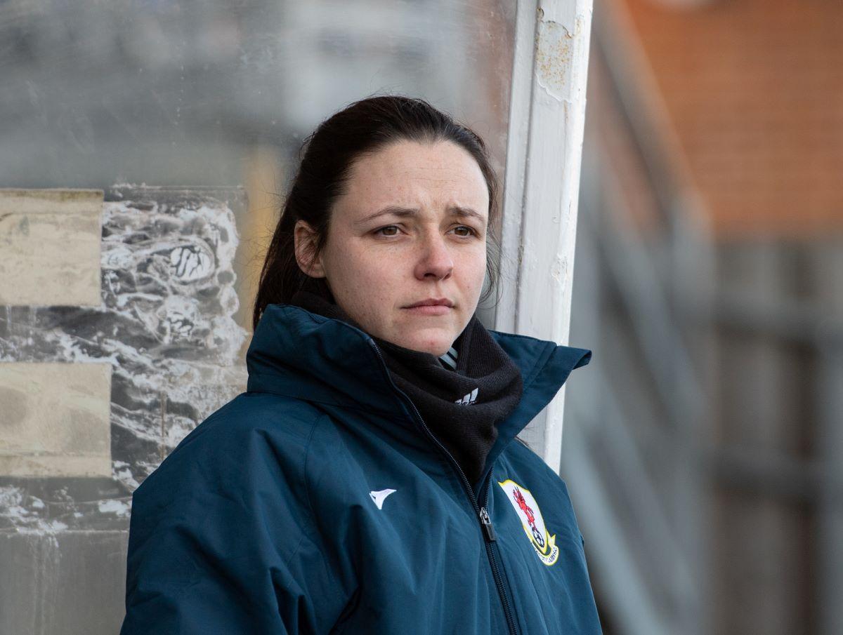 Spurs' new assistant coach, Lauren Smith