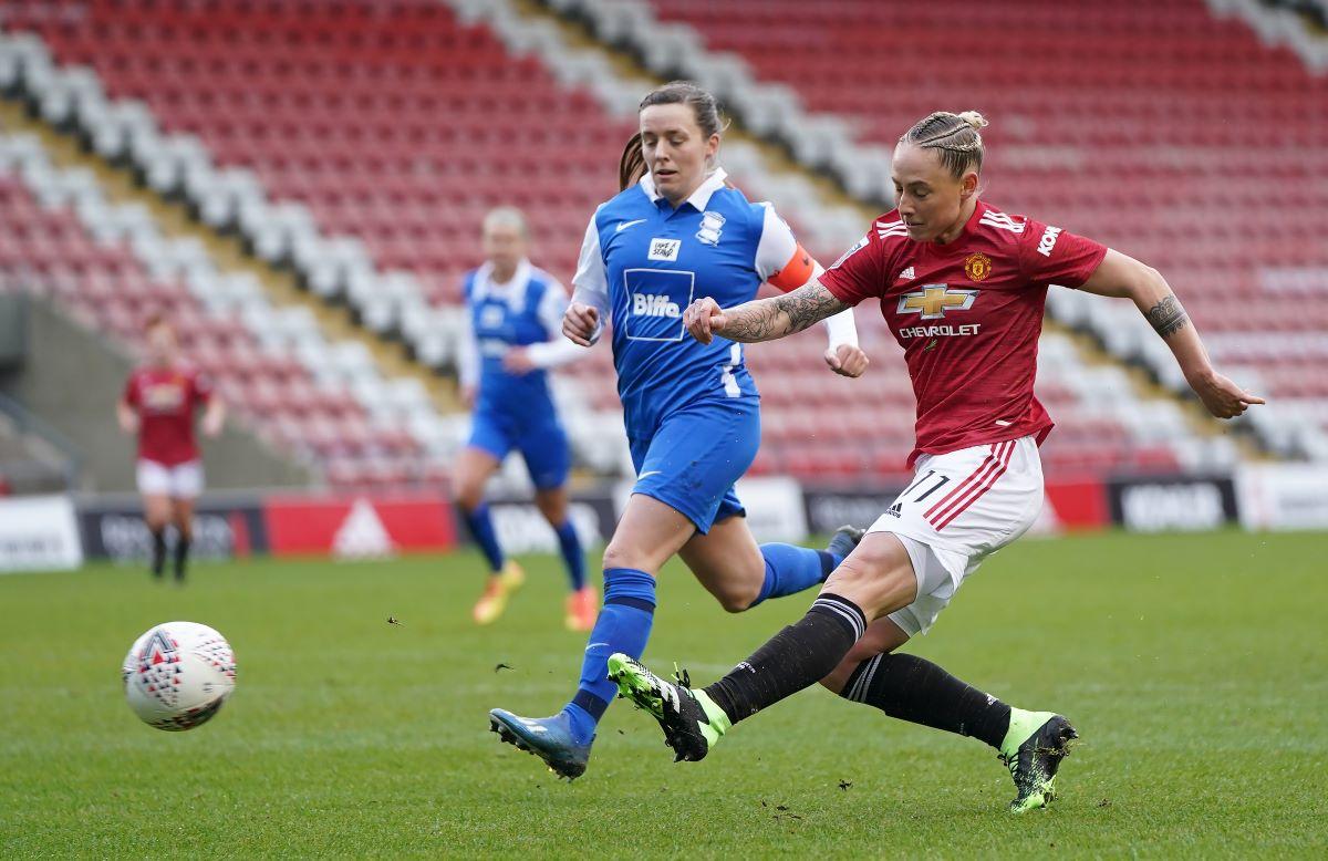 Man United's opener scorer, Leah galton