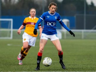 SWPL Player of the Month, Lizzie Arnot