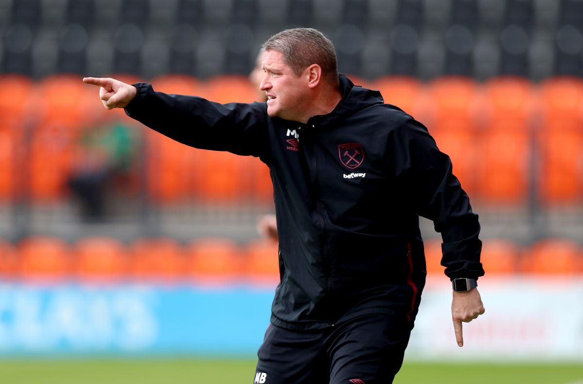 Temporary Bristol City boss Matt Beard