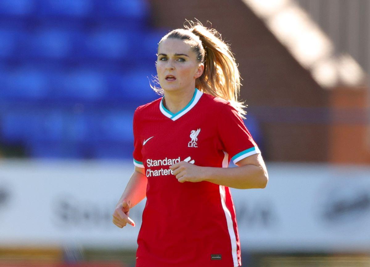 Melissa Lawley of Liverpool