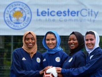 women refugee footballers