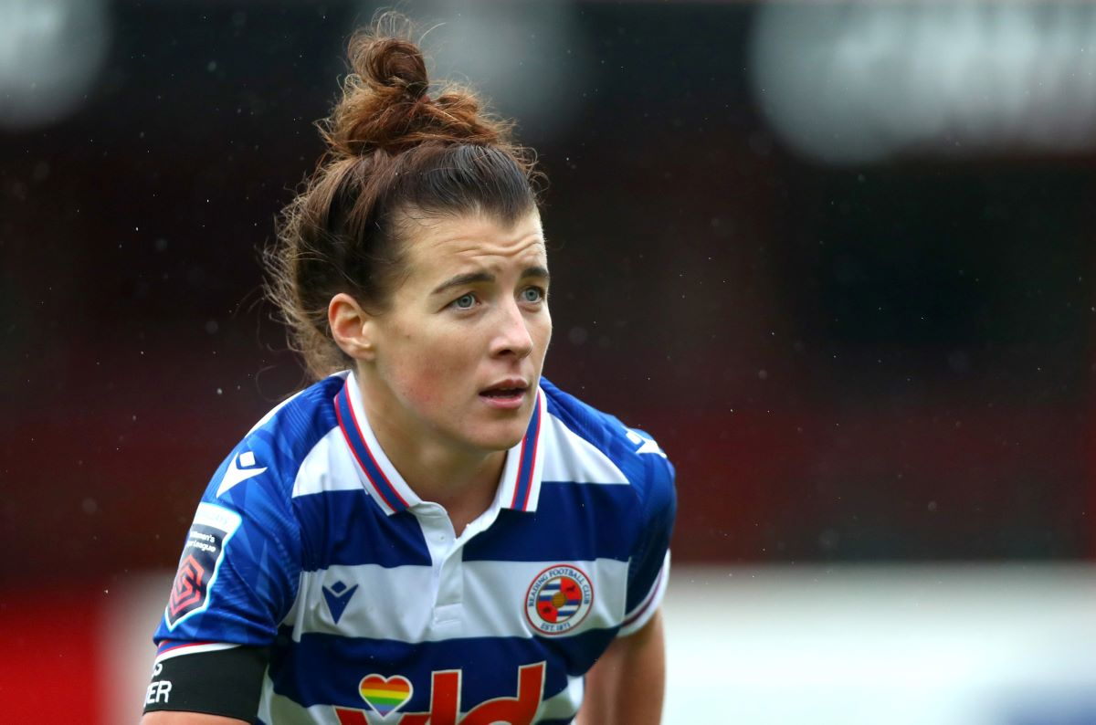 Angharad James of Reading Women