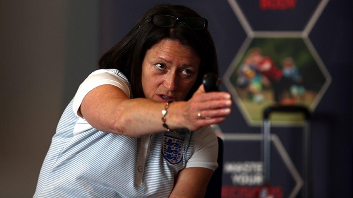 The FA's Head of Women's Coaching, Audrey Cooper