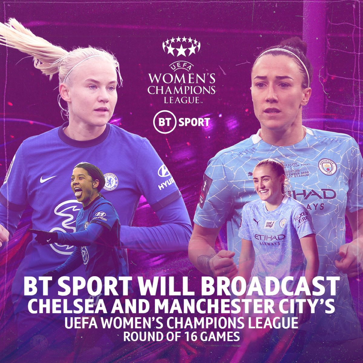 UWCL on BT Sport