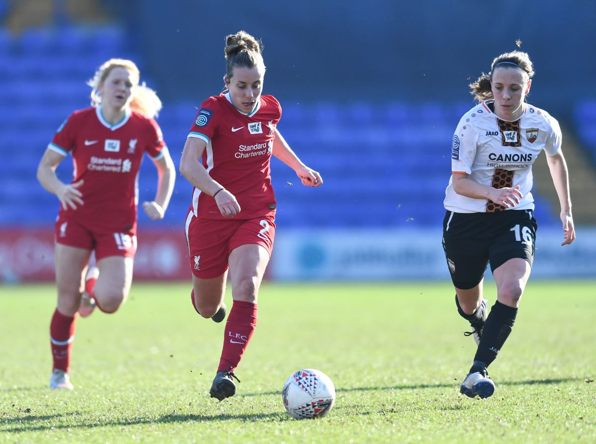 Becky Jane scored Liverpool's opener