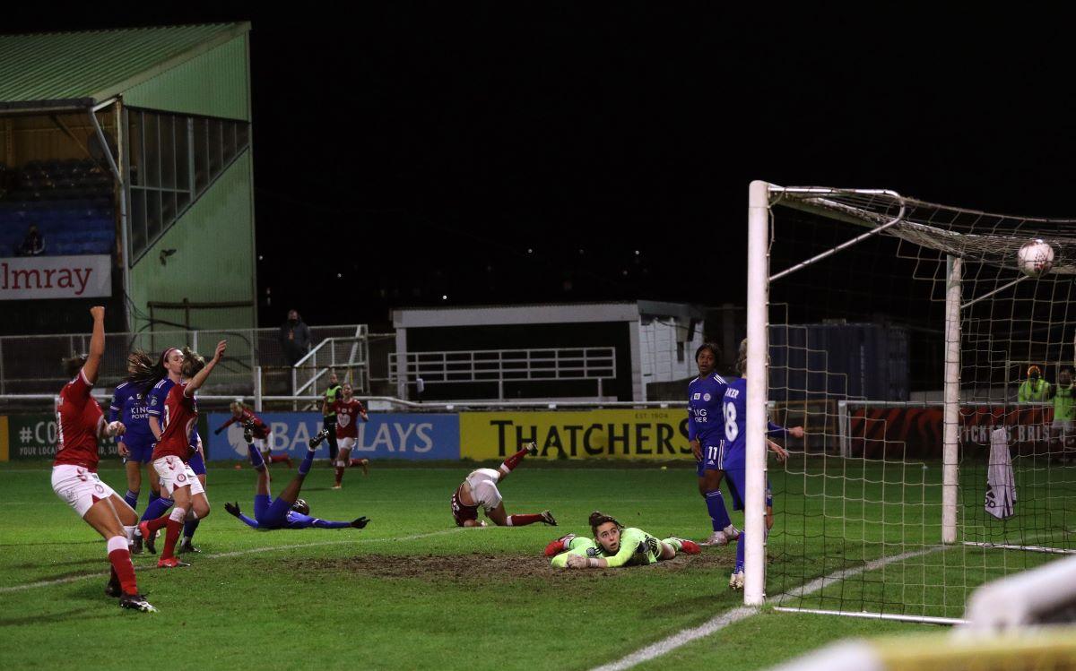 Bristol City's winning goal v Leicester City