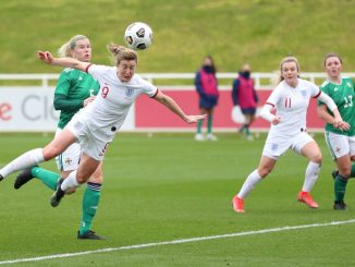 Ellen White scored her first ever England hat-trick.