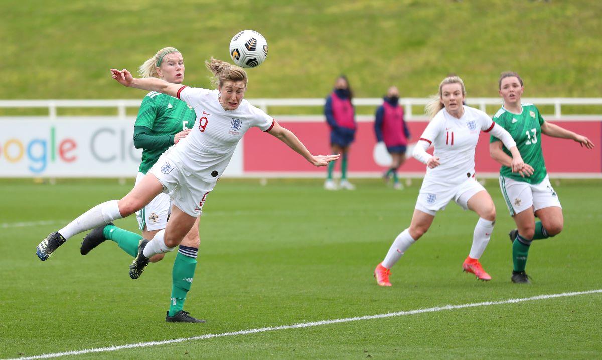Ellen White scored her first ever England hat-trick.