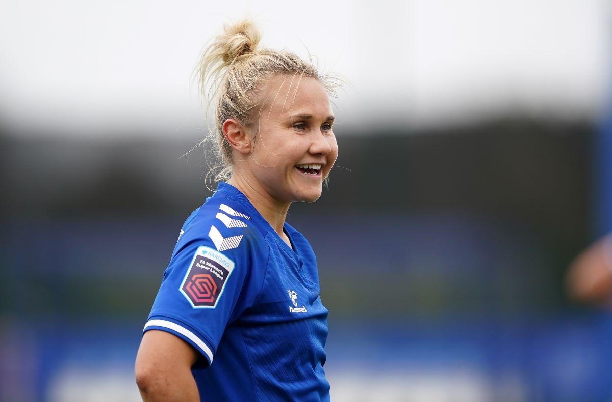 Everton's Izzy Christiansen