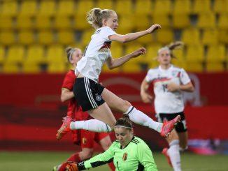 Lea Schuller scored germany's second goal