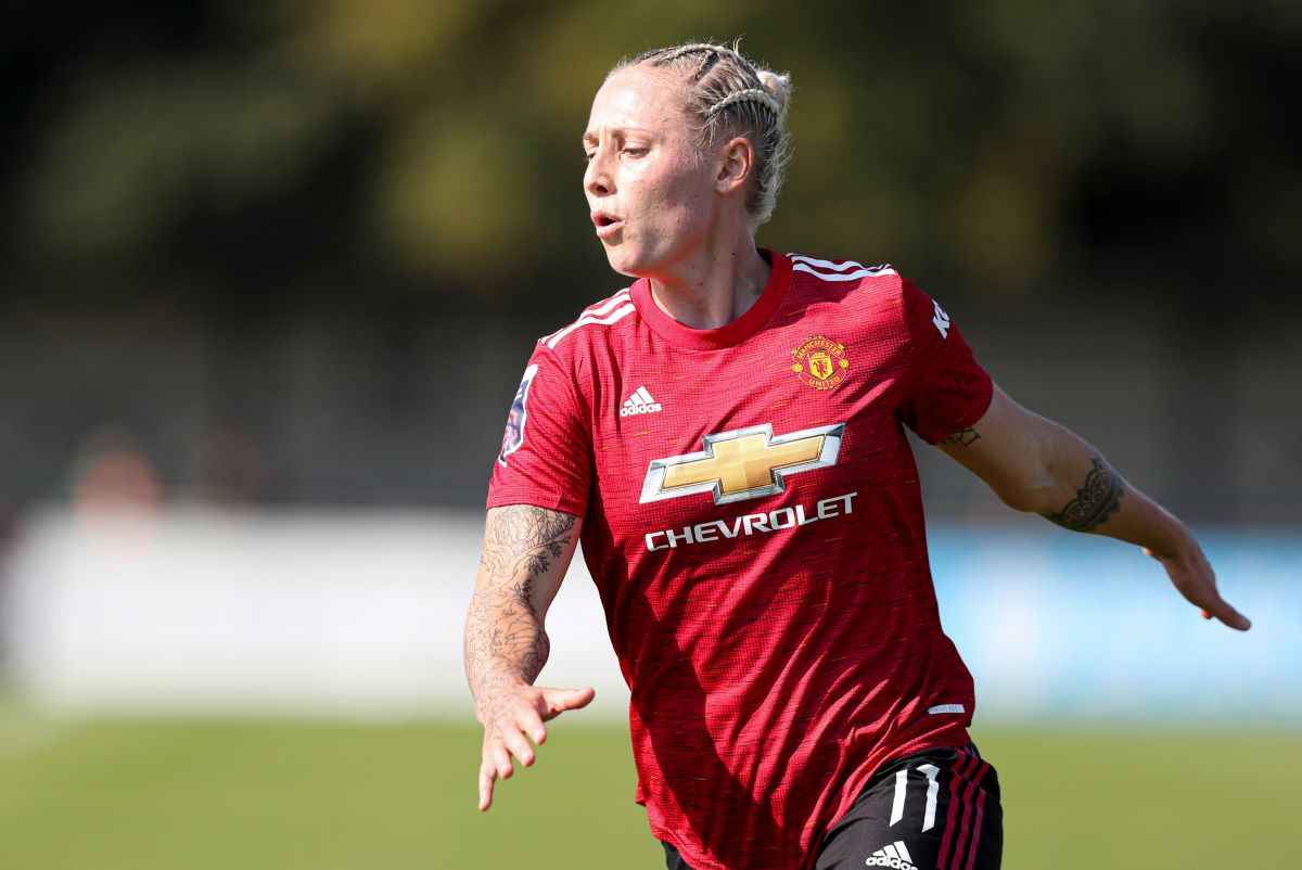 Leah Galton of Manchester United