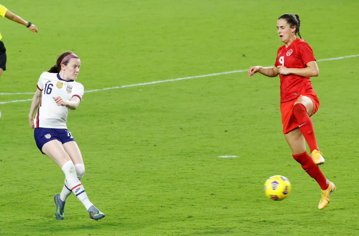 Rose Lavelle scores for the USA